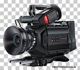 Blackmagic URSA Mini 4.6K Canon EF Lens Mount Blackmagic URSA Mini 4K Blackmagic Design URSA Mini Pro Digital Movie Camera PNG
