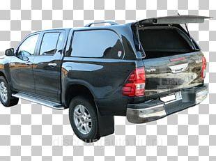Toyota Hilux Car Pickup Truck Bumper Tire PNG