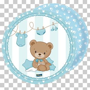 Baby Shower Party Dijos Doces Azul Brazilian Airlines Disposable PNG