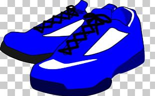 Sneakers Shoe Blue PNG