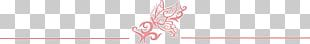 Butterfly Close-up Line H&M Font PNG