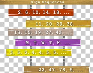 Sequence Mathematics Number Arithmetic Progression Series PNG