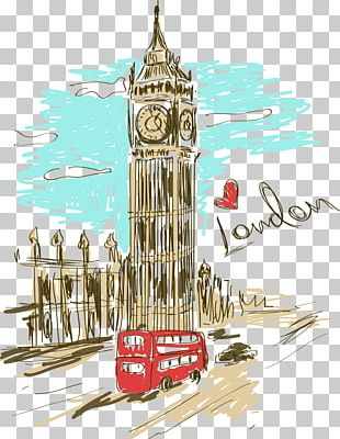 Big Ben Paris Clock Tower PNG
