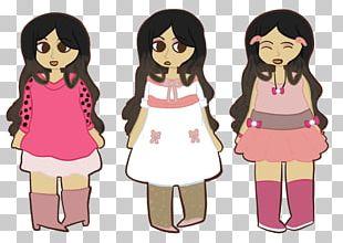 Cartoon Illustration Clothing Design Pink M PNG