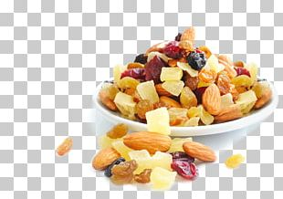 Muesli Dried Fruit Breakfast Cereal Mixed Nuts PNG