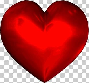 Red Heart Valentine's Day PNG