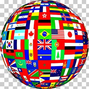 Flags Of The World Globe World Flag PNG