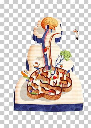 The Second Brain Enteric Nervous System Gastrointestinal Tract Gutu2013brain Axis PNG