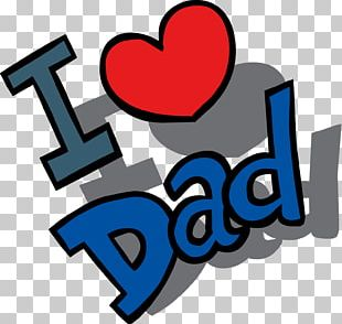 Happy Fathers Day Love Dad PNG