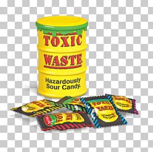 Sour Lollipop Toxic Waste Liquorice Candy PNG