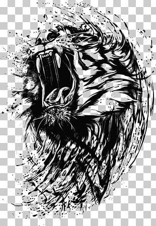 Tiger T-shirt Wildcat Roar PNG