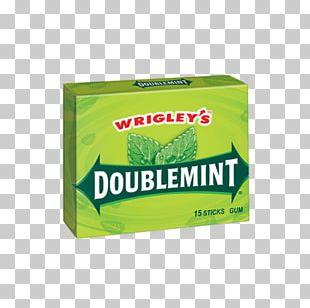 Chewing Gum Doublemint Wrigley Company Wrigley's Spearmint Orbit PNG