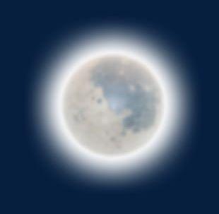 Halloween Moon PNG