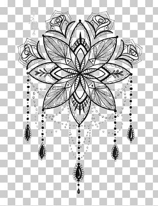 Tattoo Artist Mandala Drawing PNG