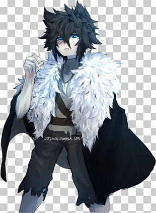 Gray Wolf Werewolf Anime Vampire Art PNG