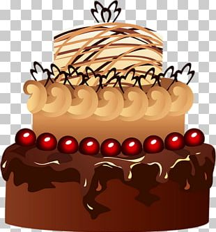 Chocolate Cake Fruitcake Kuchen PNG