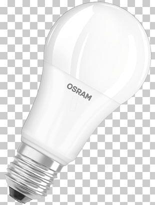 Incandescent Light Bulb LED Lamp Color Rendering Index Osram PNG