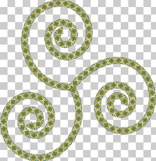 Symbol Triskelion Celts PNG