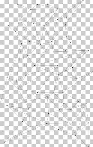 Line Point Symmetry Pattern PNG