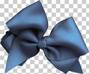 Bow Tie Blue Ribbon Necktie PNG