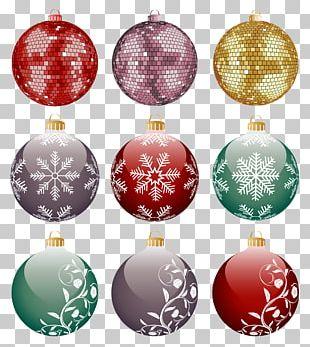 Christmas Ornament Ball Christmas Decoration PNG