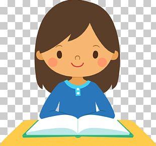Girl Study Skills Student PNG