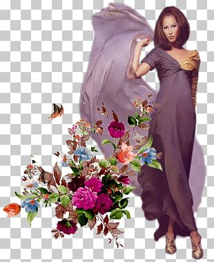 Floral Design Flower Bouquet Decoupage PNG
