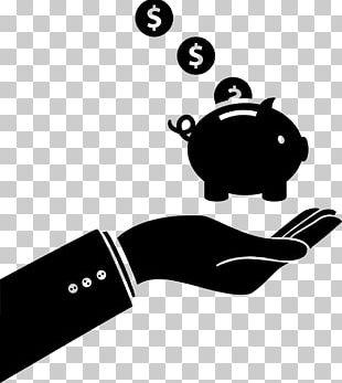 Piggy Bank Euclidean Saving Icon PNG