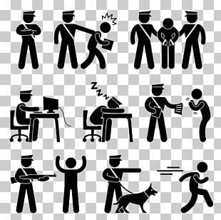 Police Officer Pictogram Security Guard PNG