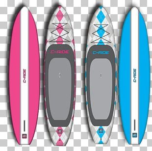 Surfboard I-SUP Standup Paddleboarding PNG
