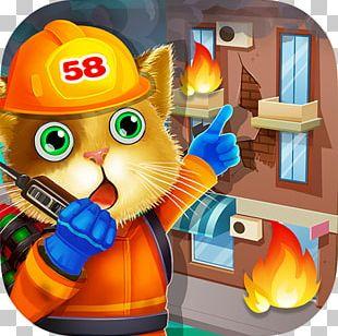 Fireman Tom Cat PNG