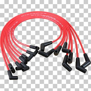 Wire Chevrolet High Energy Ignition Spark Plug High Tension Leads PNG