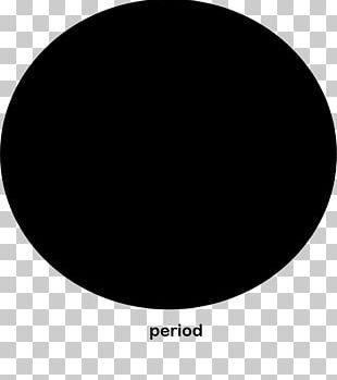 Black Circle Point PNG