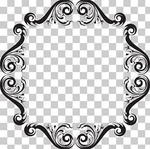 Frames Pattern Font Line Art PNG