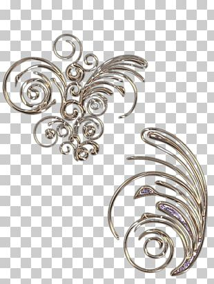 Butterfly Body Jewellery White 2M PNG