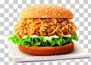 Hamburger Fried Chicken French Fries Chicken Sandwich PNG