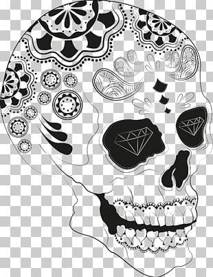 Calavera Pan De Muerto Skull Day Of The Dead PNG