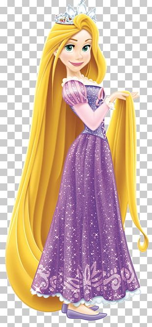Tangled Rapunzel Belle Disney Princess Wall Decal PNG