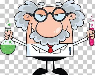 Professor Utonium Scientist Science Cartoon PNG