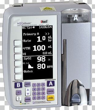 Infusion Pump Intravenous Therapy Magnetic Resonance Imaging Patient PNG