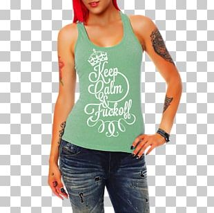 T-shirt Top Woman Clothing Sleeveless Shirt PNG