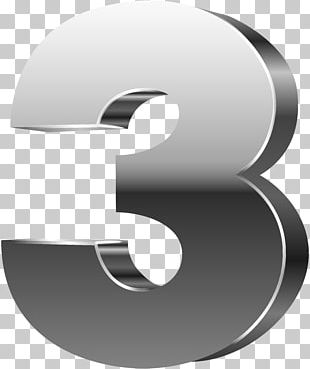 Number 3D Computer Graphics PNG