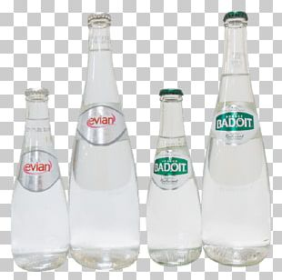 Glass Bottle Mineral Water Plastic Bottle PNG