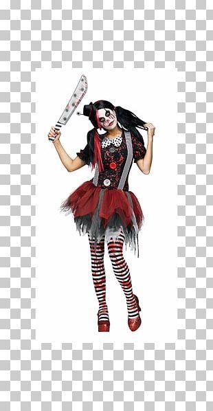 Halloween Costume Spirit Halloween Evil Clown Woman PNG
