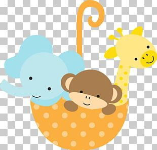 Baby Jungle Animals Baby Shower Infant Diaper PNG