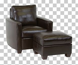 Club Chair Foot Rests Recliner PNG
