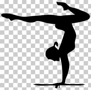 Artistic Gymnastics Silhouette Rhythmic Gymnastics PNG