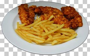 Fish And Chips French Fries Chicken Fingers Fried Chicken Fast Food PNG