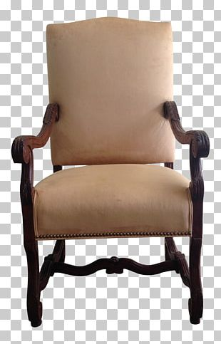 Club Chair Furniture Baluster Fauteuil Style Louis XIV PNG