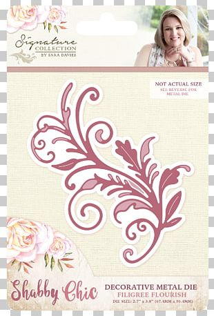 Die Cutting Craft Shabby Chic Metal PNG